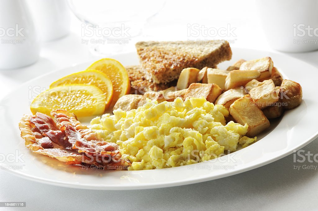 Breakfast meal stock photo