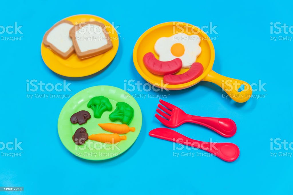 Breakfast model. royalty-free stock photo