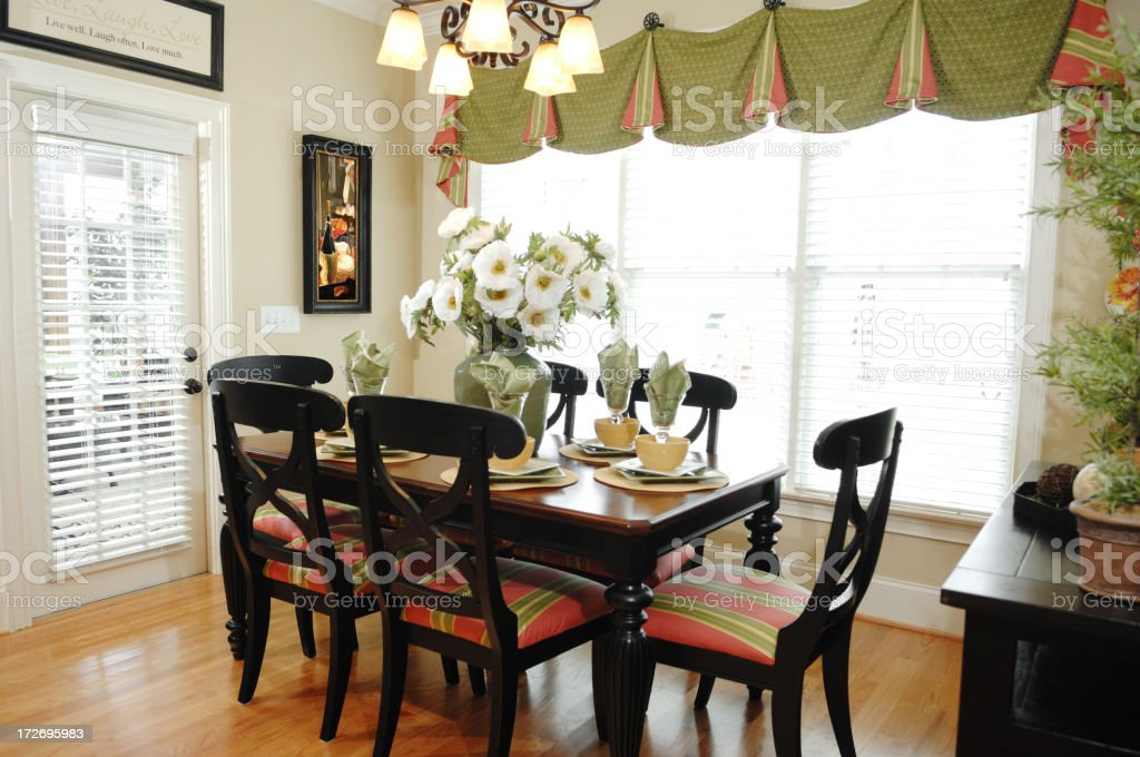 Breakfast Nook royalty-free stock photo