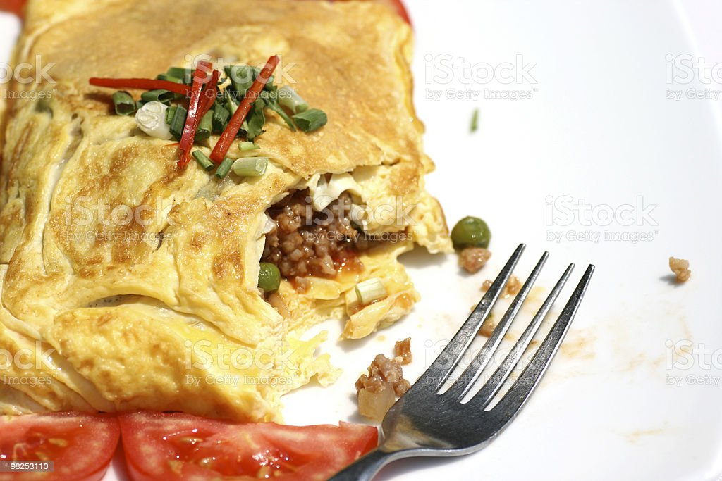 Breakfast Omelet royalty-free stock photo