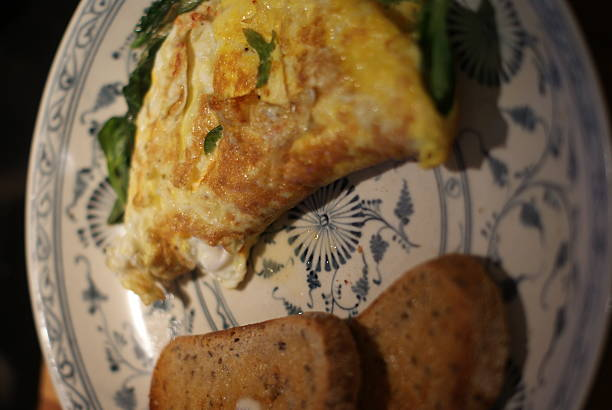 Breakfast Omelette stock photo