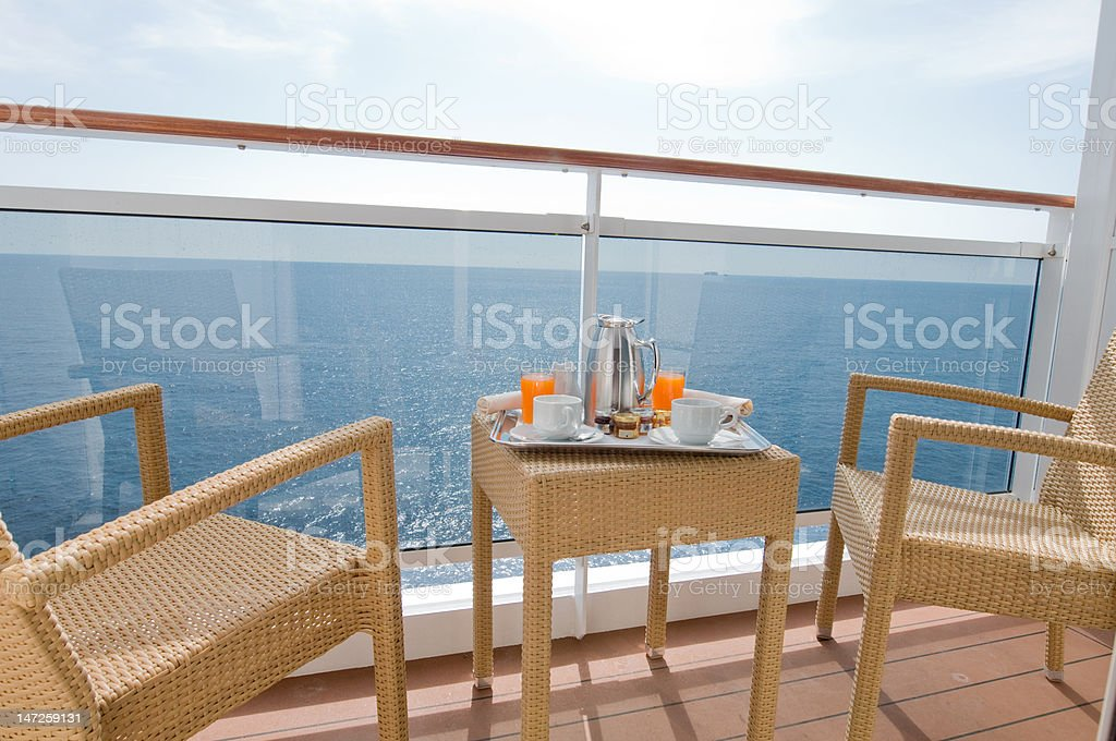 Breakfast on Cruise ship royalty-free stock photo