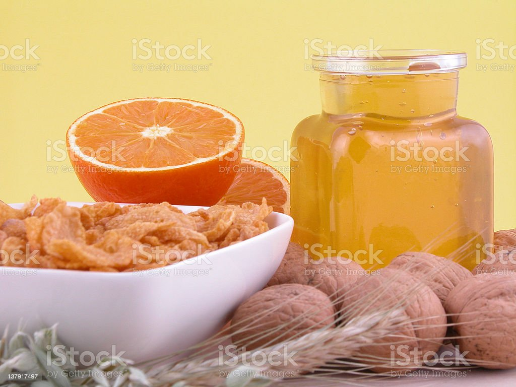 breakfast - on diet royalty-free stock photo