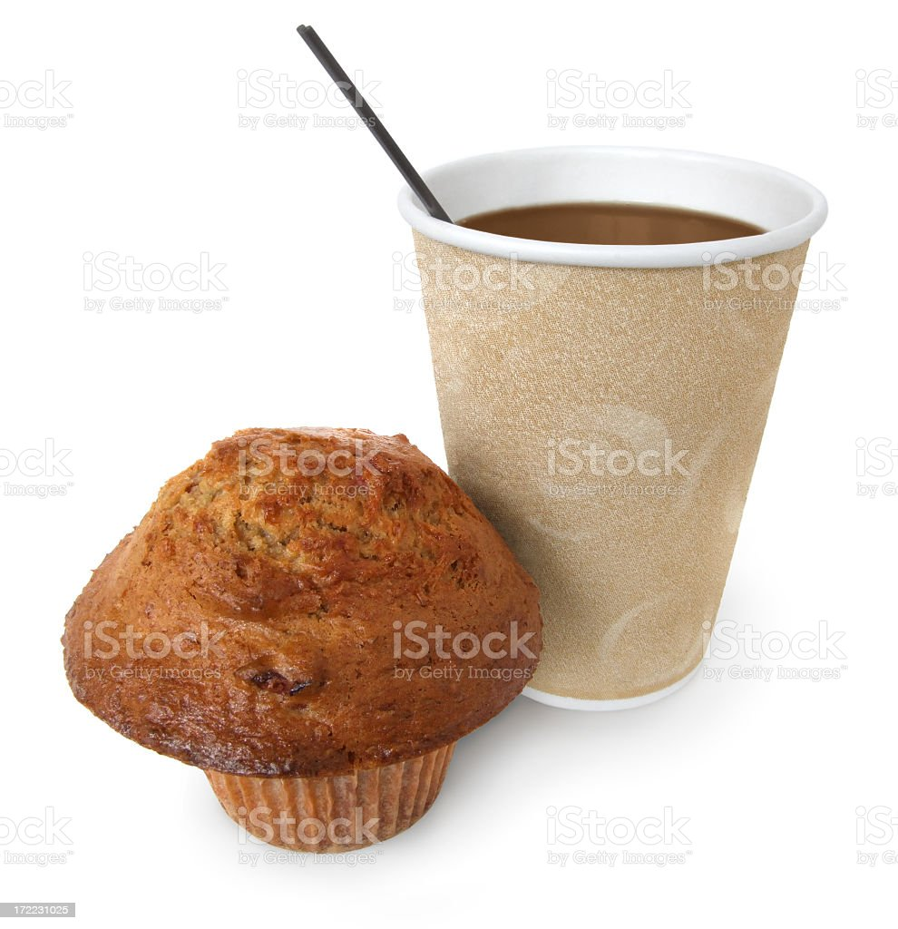 Breakfast on the go royalty-free stock photo