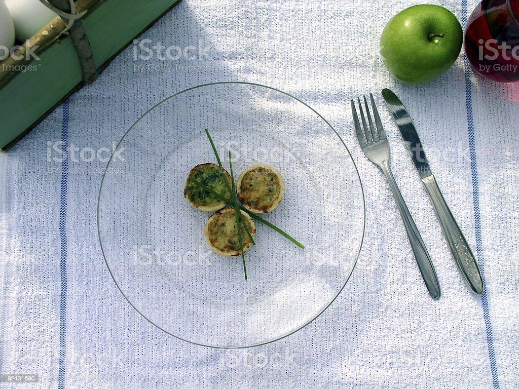 Breakfast Outdoors 2 stock photo