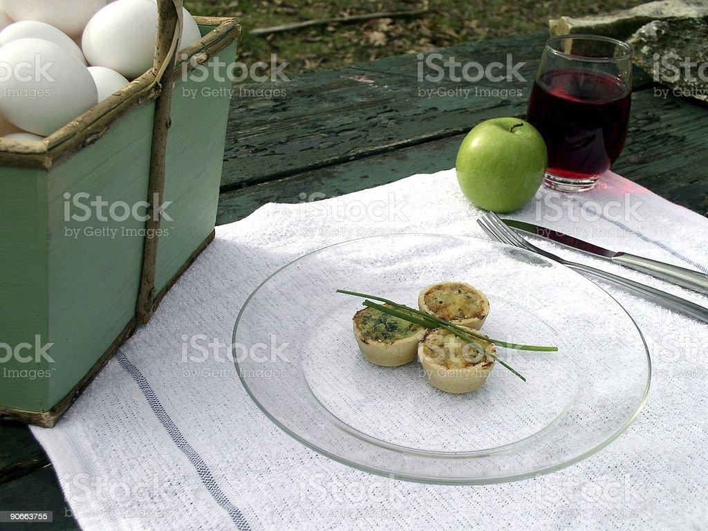 Breakfast Outdoors stock photo
