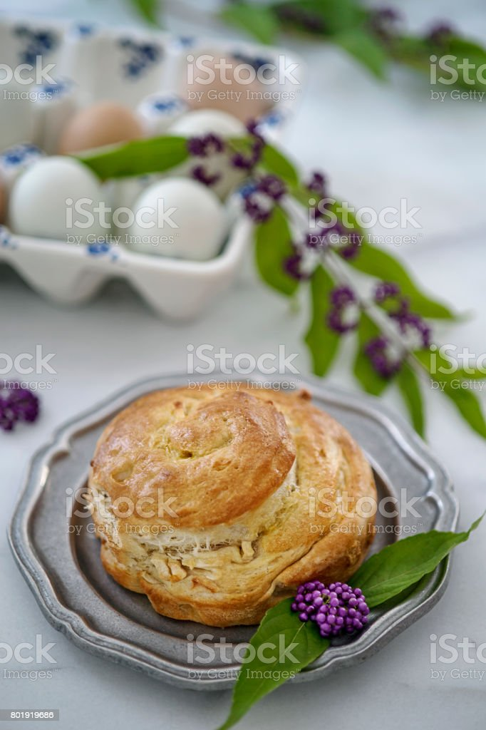 Breakfast pastry stock photo