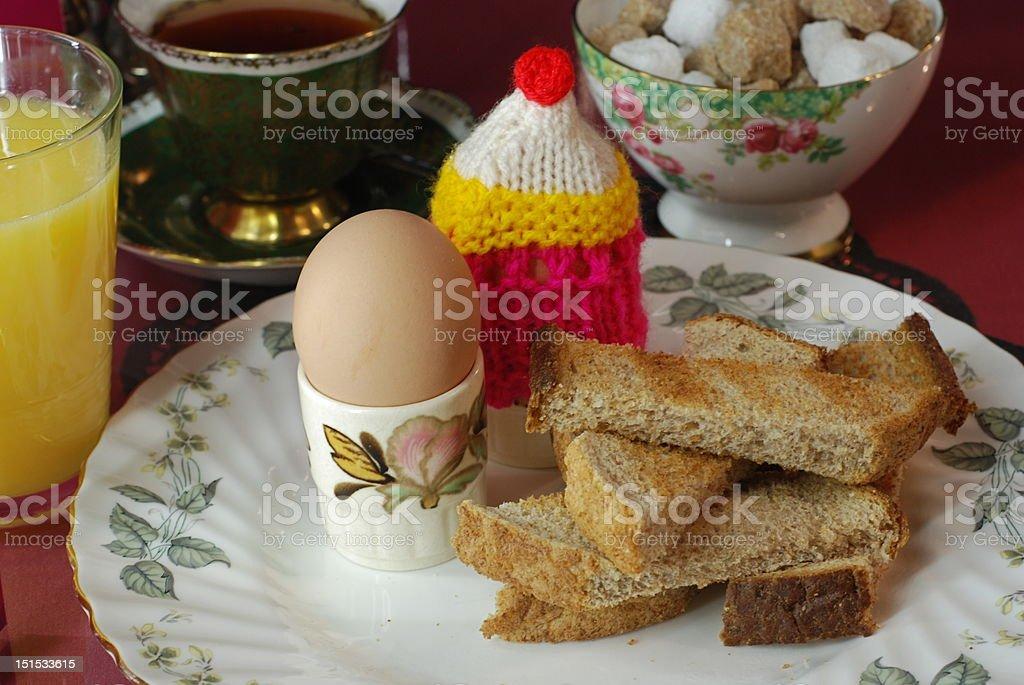 breakfast breakfast Boiled Egg Stock Photo