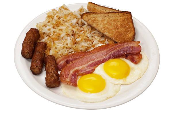 - frühstück - haschee stock-fotos und bilder