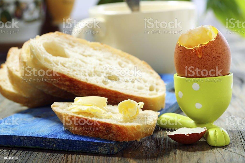 Breakfast. royalty-free stock photo