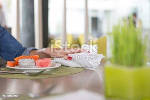 Fruits for breakfast , selective focus