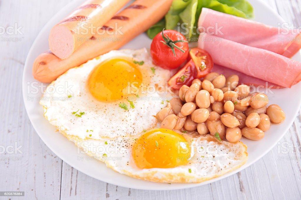 Pequeno-almoço foto de stock royalty-free