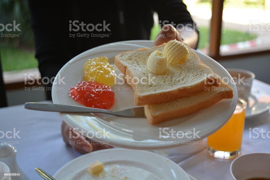 breakfast royalty-free 스톡 사진