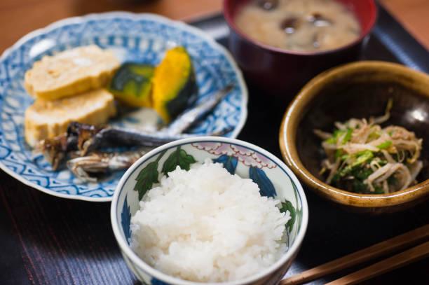 朝食 - 和食 ストックフォトと画像