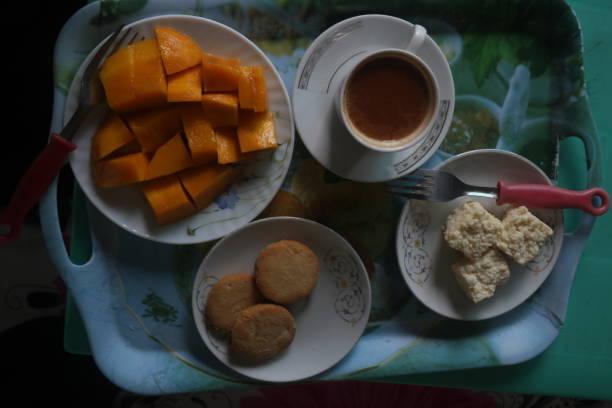Café-da-manhã - foto de acervo