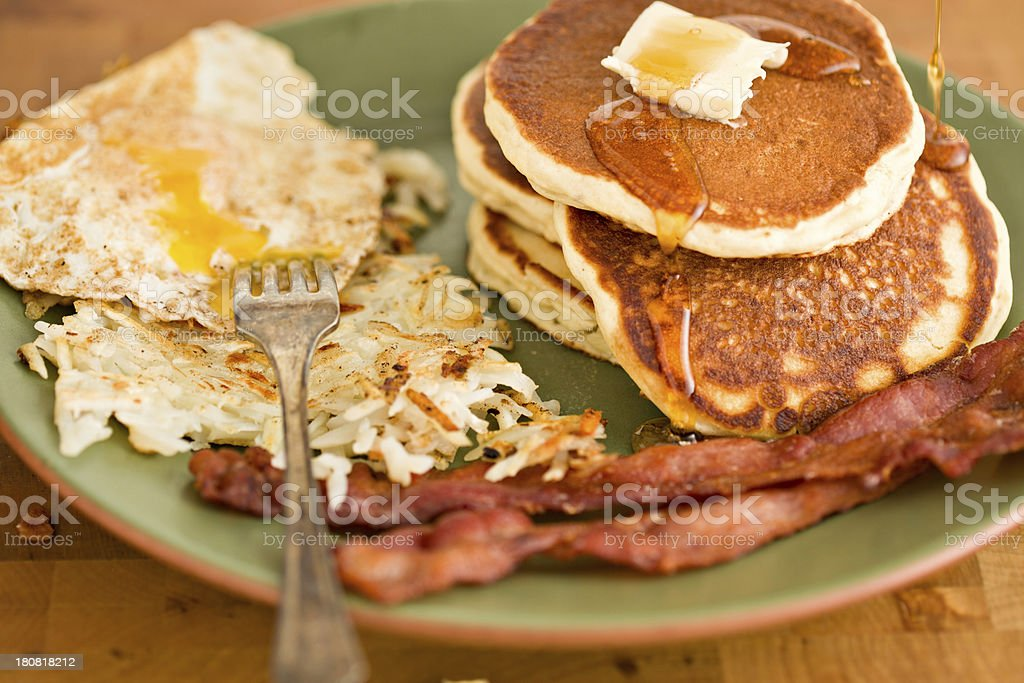 Breakfast Plate royalty-free stock photo