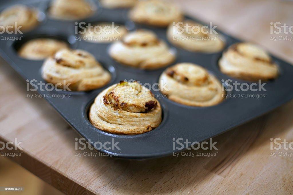 breakfast rolls royalty-free stock photo