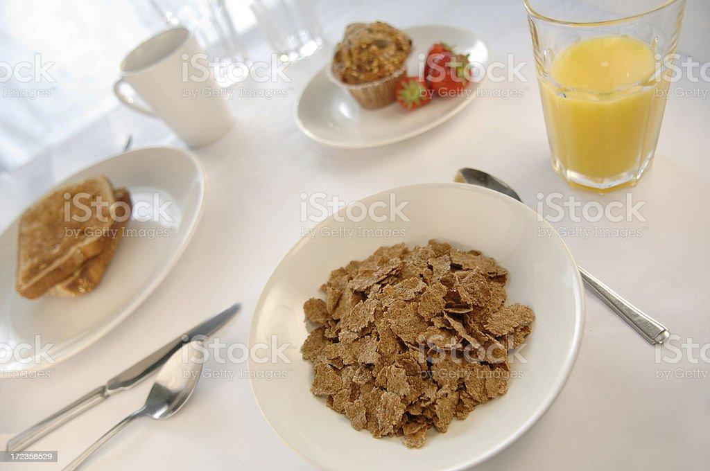 Serie de desayuno foto de stock libre de derechos