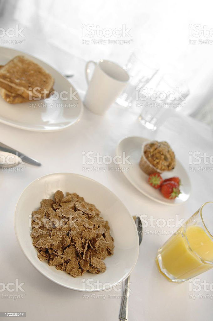 breakfast series royalty-free stock photo
