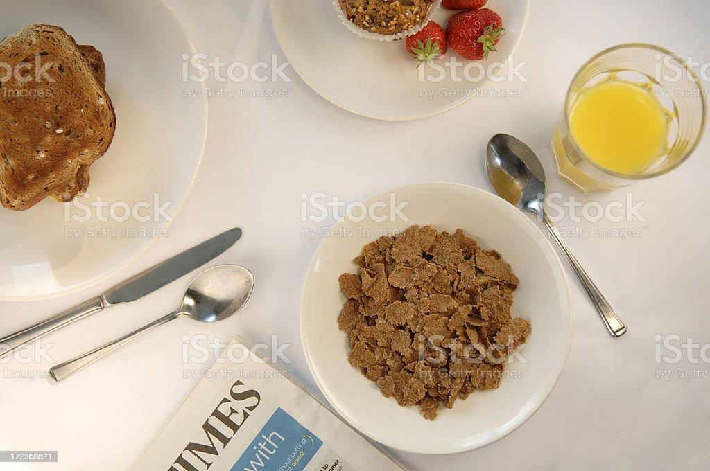 breakfast series royalty-free stock photo