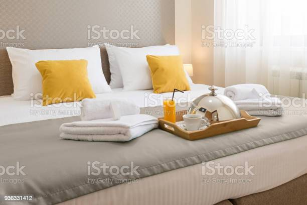 Breakfast served on a hotel bed picture id936331412?b=1&k=6&m=936331412&s=612x612&h=bkgijbqxscai wedmvkulinjkfqaedh6a7kip wjkhk=