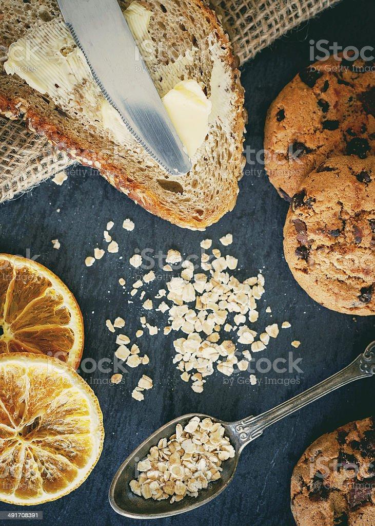 Breakfast set royalty-free stock photo