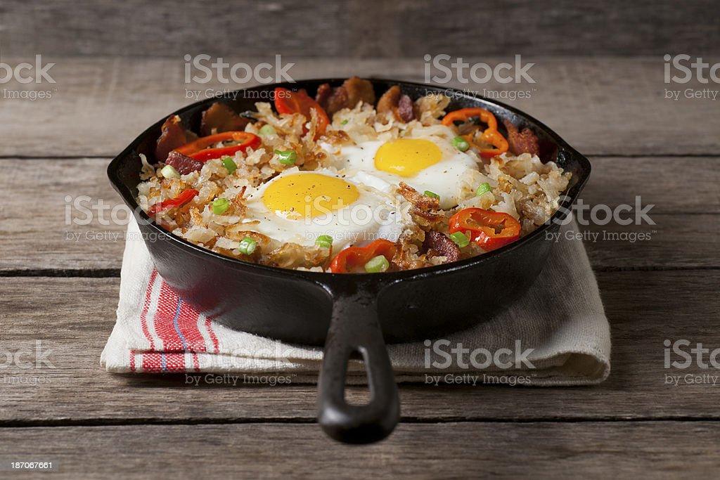 Breakfast Skillet royalty-free stock photo