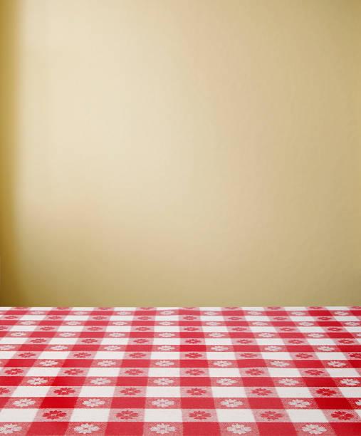 frühstückstisch - roten küchentische stock-fotos und bilder