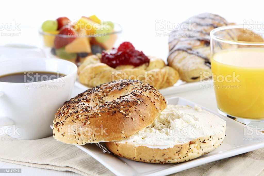 table de petit déjeuner - Photo