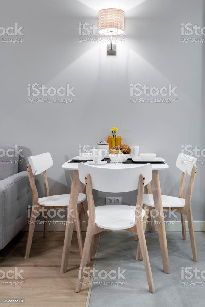Frühstückstisch – Foto
