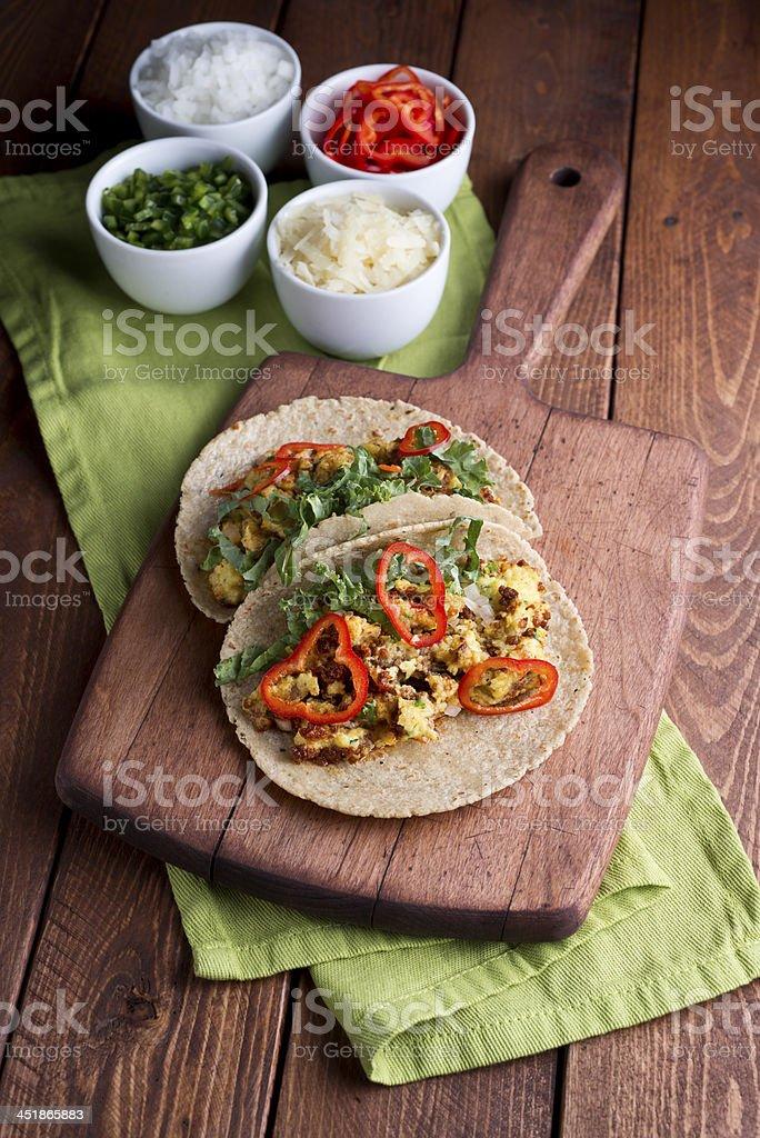 Breakfast Tacos stock photo