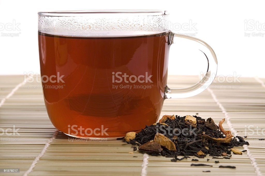 breakfast tea royalty-free stock photo