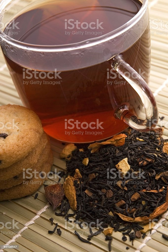 breakfast tea royalty-free stock photo