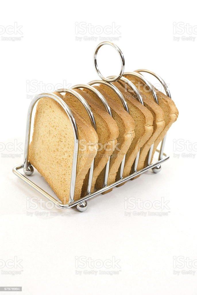 Breakfast toast royalty-free stock photo