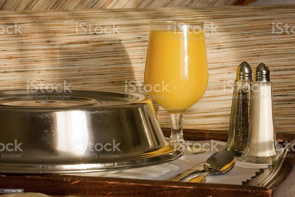 breakfast tray royalty-free stock photo