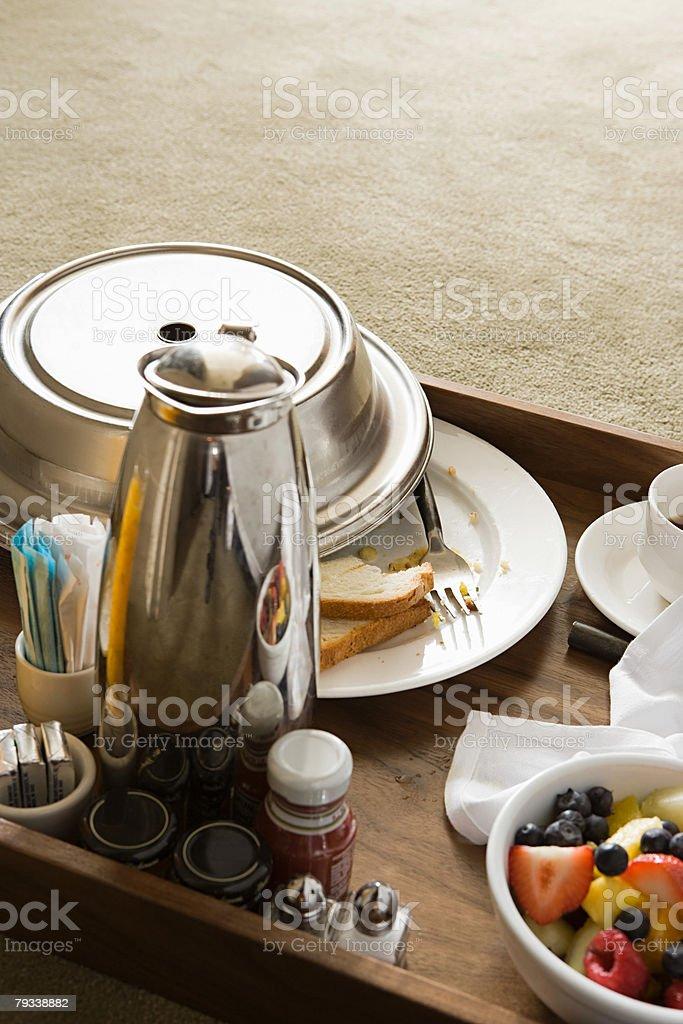 Breakfast tray 免版稅 stock photo