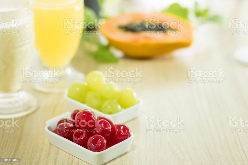 Breakfast with the sunshine royalty-free stock photo