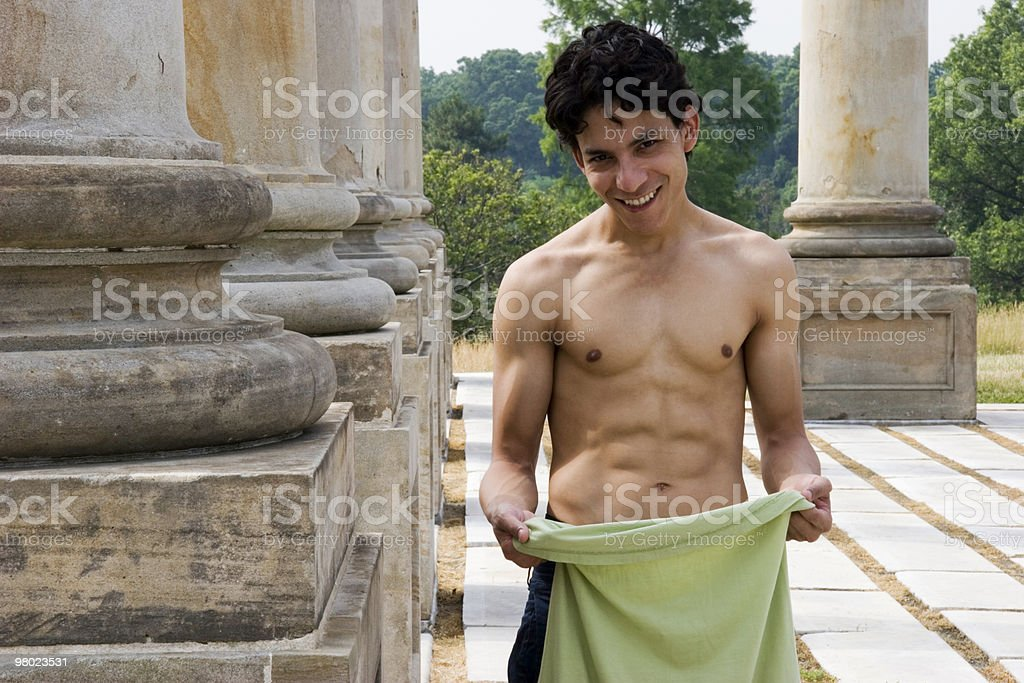 Breaking a Sweat royalty-free stock photo