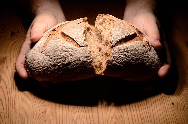 Zerbrechen Brot – Foto