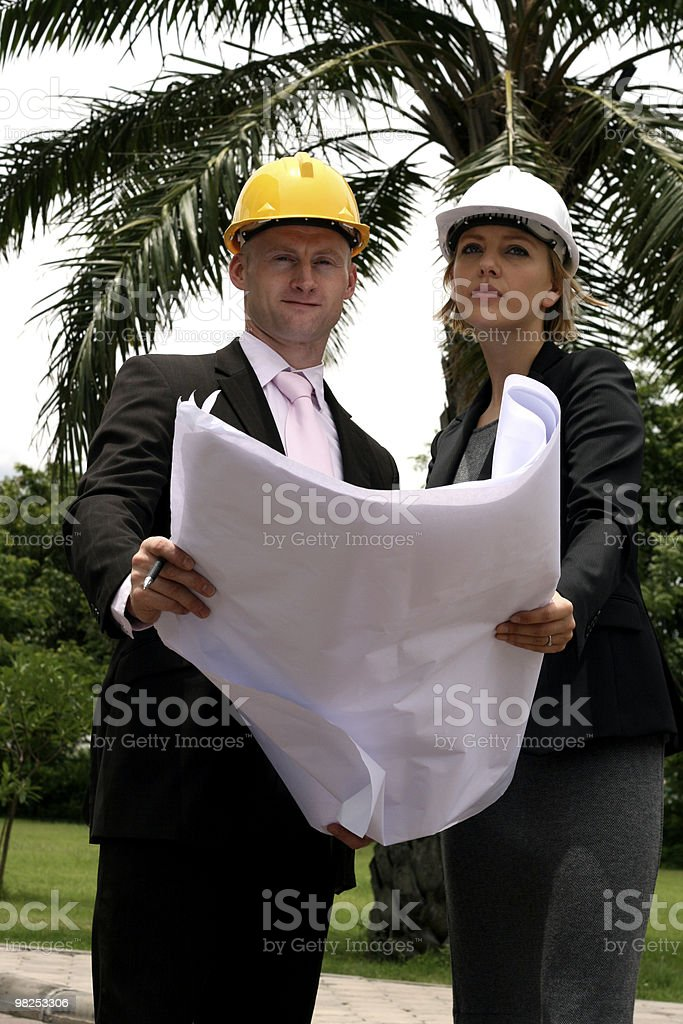 Breaking Ground royalty-free stock photo