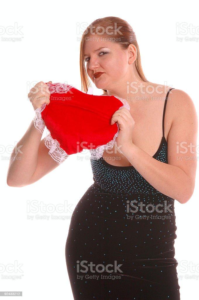Breaking Heart Valentine royalty-free stock photo