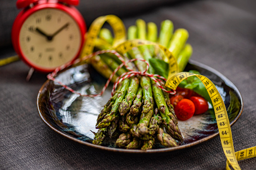 Breaking Intermittent Fasting with Grilled Asparagus