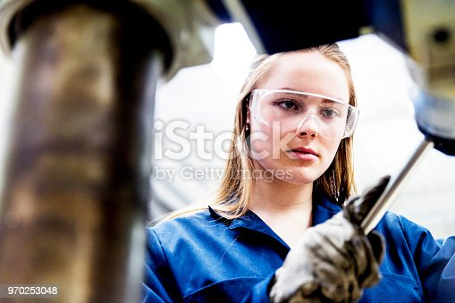istock Breaking New Grounds - Woman in STEM 970253048