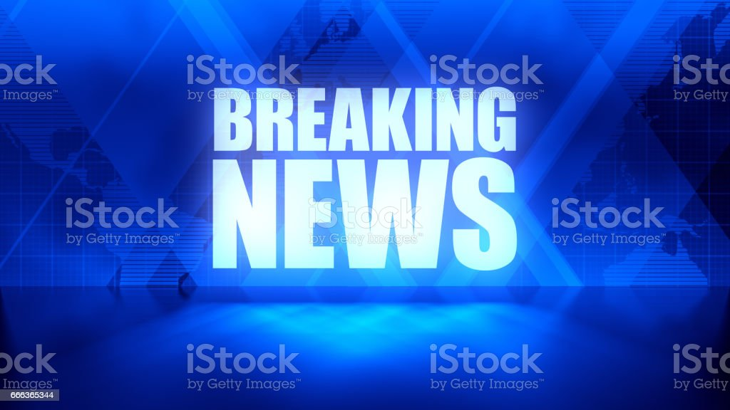 Breaking News Background Stock Photo - Download Image Now