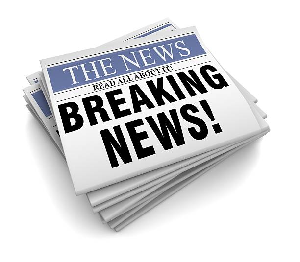 News: Best Breaking News Stock Photos, Pictures & Royalty-Free