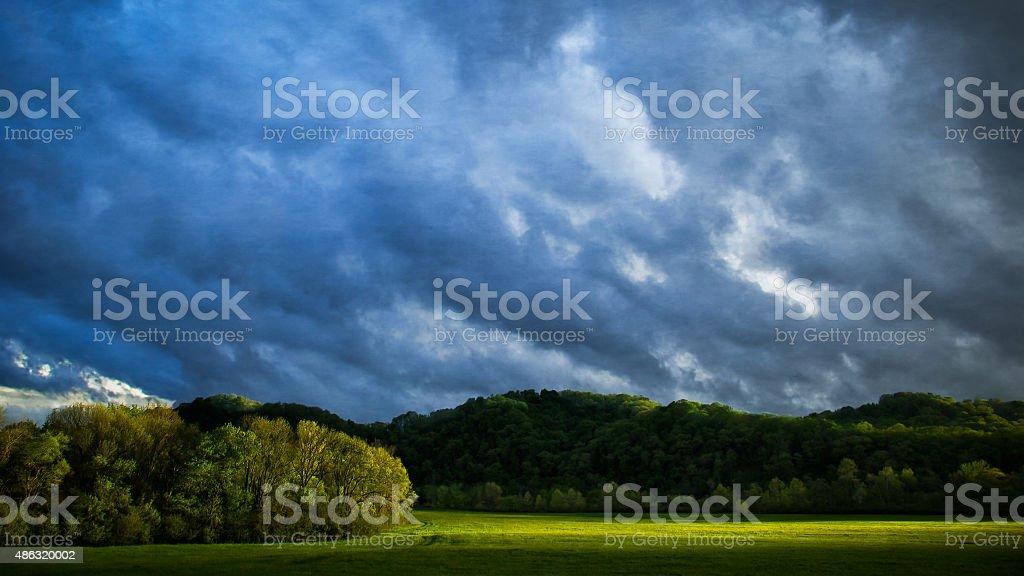 Breaking Storm stock photo