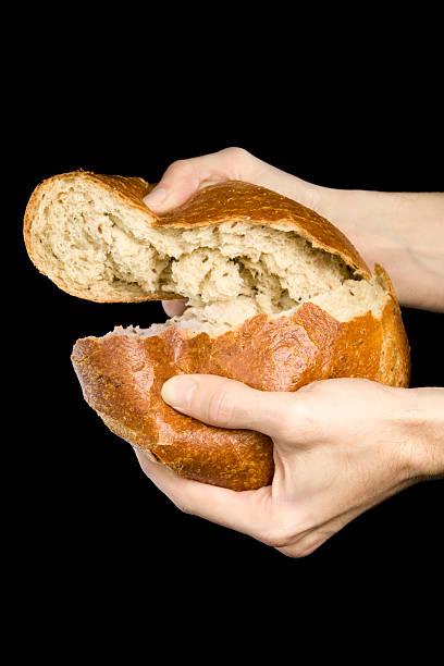Breaking der Brot – Foto