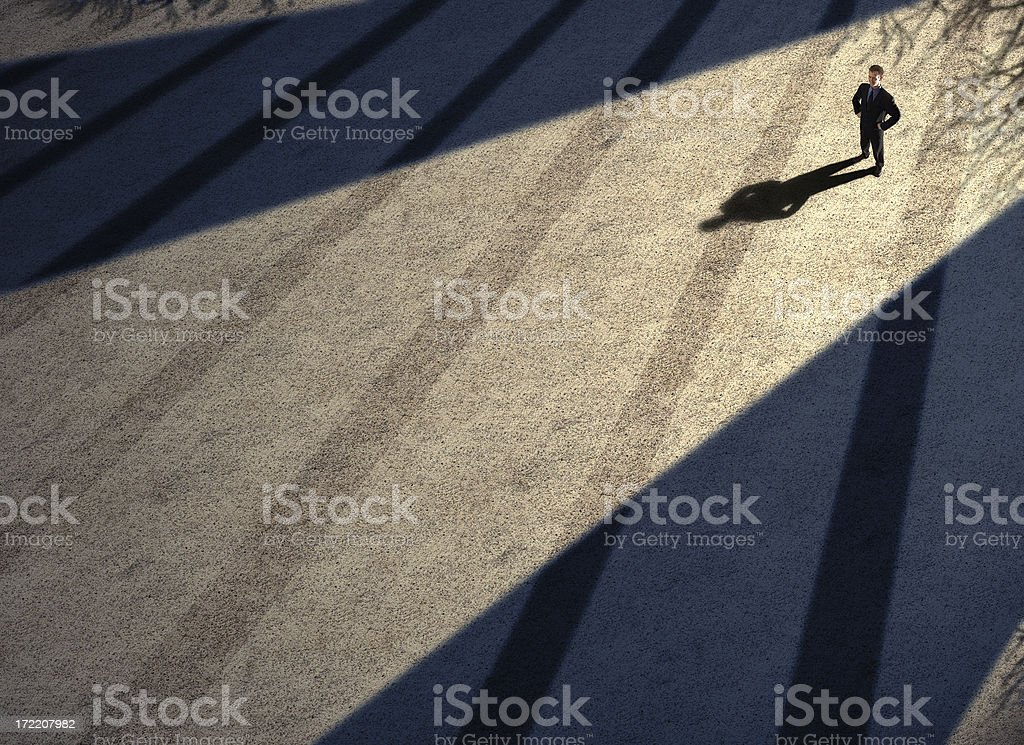 Breaking the dawn royalty-free stock photo