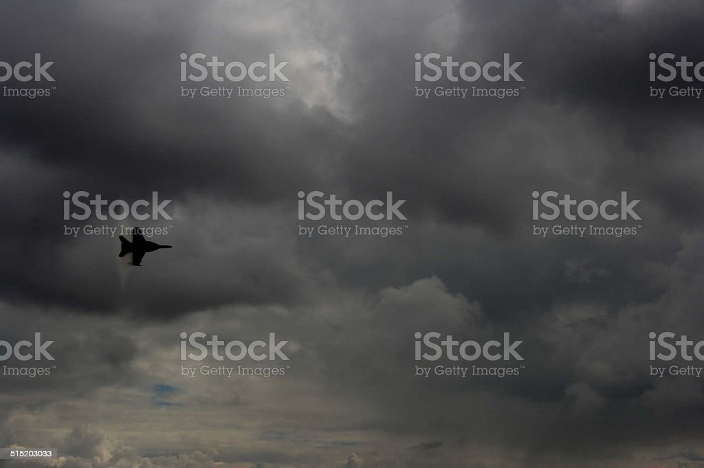 Breaking the Sound Barrier stock photo