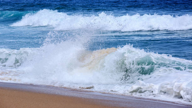 breaking wave - swashbuckler stock photos and pictures